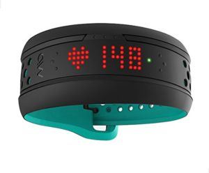 Mio Alpha Pulsuhr: Mio FUSE Performance Activity Tracker mit Herzfrequenzmessung, Aqua, S/M